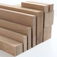 Oak planed all round timber in various sizes