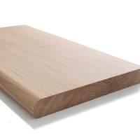 Bullnosed oak window board