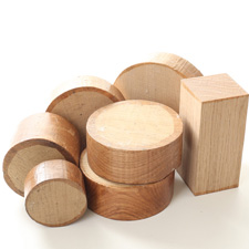 free oak woodturning blanks