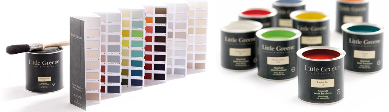Litle Greene paint montage